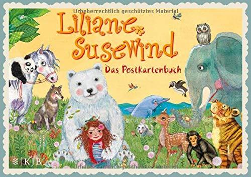 Liliane Susewind – Das Postkartenbuch. 20 farbige Motive (Liliane Susewind ab 8)