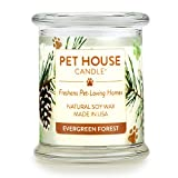 One Fur All 100% Natural Soy Wax Candle, 20 Fragrances - Pet Odor...