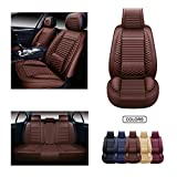 Best Car Seat Covers - OASIS AUTO Leather Car Seat Covers, Faux Leatherette Review
