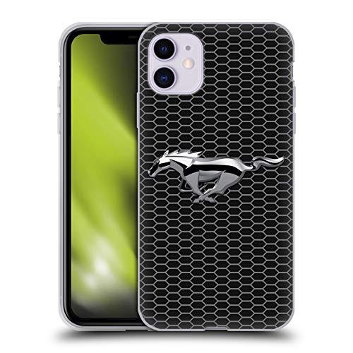 Head Case Designs Offizielle Ford Motor Company Grillen Mustang Logos Soft Gel Handyhülle Hülle Huelle kompatibel mit Apple iPhone 11