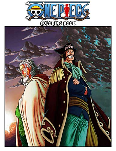 One Piece Coloring Book .: One Piece Coloring Book 240 Unique And High Quality Illustrations . With Gol D roger Cover Design ( 8.5 x 11 Inches ) .