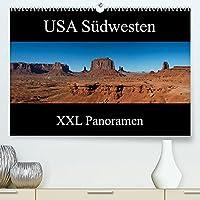 USA Suedwesten - XXL Panoramen (Premium, hochwertiger DIN A2 Wandkalender 2022, Kunstdruck in Hochglanz): Impressionen aus den Nationalparks im Suedwesten der USA im XXL Panoramaformat (Monatskalender, 14 Seiten )
