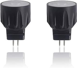 Arrownine MR8 Led Bulb 2.5Watt Equivalent to 20Watt Halogen Bulb 9-15V AC/DC Aluminum Heat Dissipation Base for Landscape Lighting Exterior Dormer Lighting Soft Warm White 2700K 2-Pack