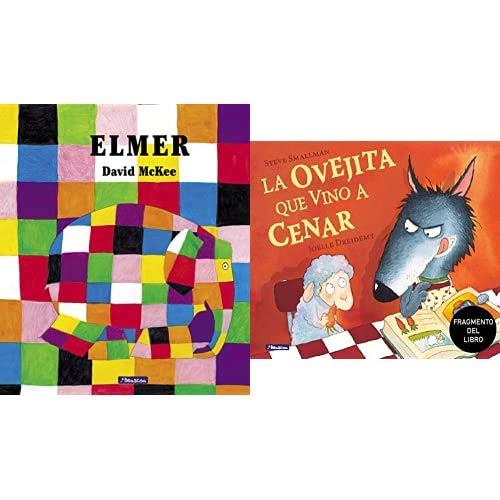 Elmer (Elmer. Álbum ilustrado) + Promoción fragmento del libro La ovejita que vino a cenar. Edición especial no venal