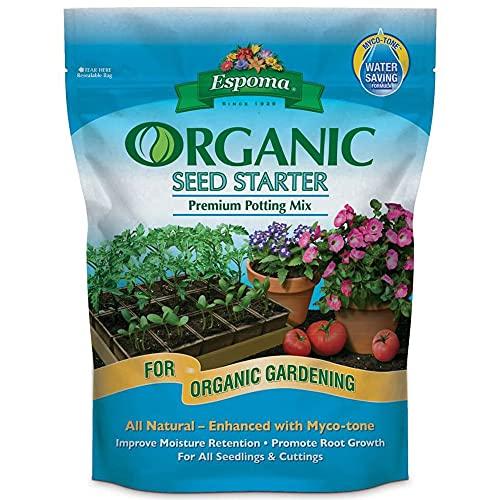 Espoma ESPSS16 Improved Moisture Retention Organic Seed...