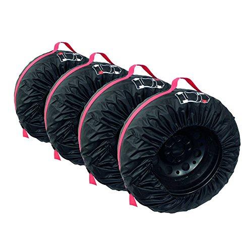 Carpoint 0613011 - Fundas para ruedas (4 unidades)