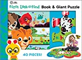 Baby Einstein - First Look and Find Board Book and Giant 40 Piece Puzzle - PI Kids