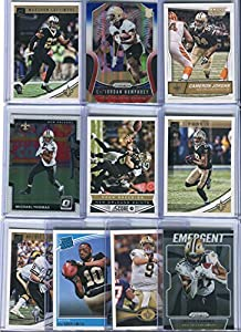 New Orleans Saints Assorted Football Cards 10 Card Lot