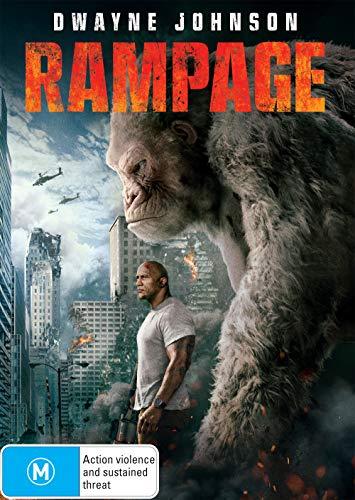 Rampage   Dwayne Johnson, Naomie Harris   NON-USA Format   PAL   Region 4 Import - Australia