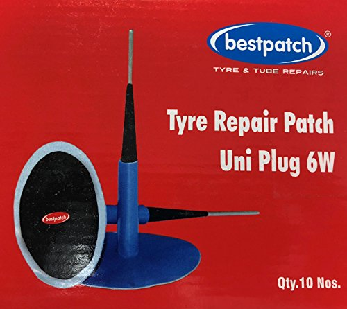 """Bestpatch UniPlug 1/4"""" Plug Patch Combo for Tire Repairs (10 Box)"""