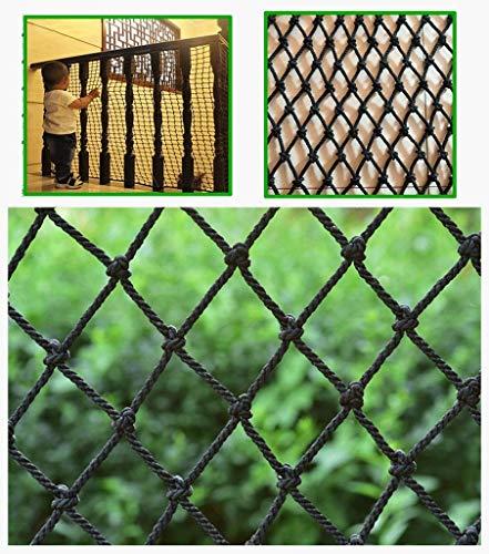 ZTMN veiligheidsnet, foto, wanddecoratie, net voor balkon en balkon ter bescherming van huisdieren, bescherming voor balustrades, kattennet voor het plafond, decoratie voor hangmat