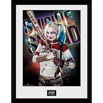 GB Eye LTD, Suicide Squad, Harley Quinn Stand, Print Enmarcado 40 ...