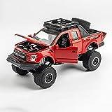 DZX Aleación Modelo de camión con Amortiguador Tire hacia atrás Coche Todoterreno Modelo de...
