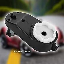 390-20000 Color : 12V Caja de Engranajes del Motor el/éctrico 6V // 12V 12000-20000RPM Adecuado para ni/ños Coche de Juguete
