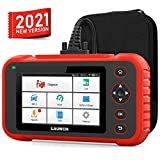 LAUNCH OBD2 Scanner with ABS SRS Engine Transmission Diagnoses and Oil EPB SAS TPMS Throttle Body Reset and 10 Paid Speical Service Code Reader Battery Test Auto VIN Scan Tool (English&Spanish Ver)