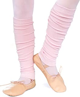 divata Kinder Ballett Stulpen, Mädchen - Ballettstulpen ohne Fersenloch - Tanzstulpen Beinstulpen Armstulpen, Weiche Legwarmer
