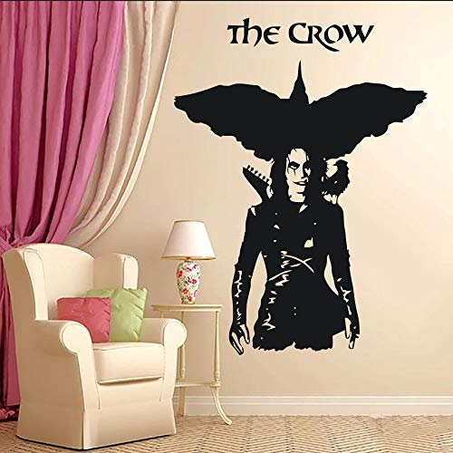 yaofale Crow vinyl wall sticker mural home creative art design wall decal room special decoration wall poster