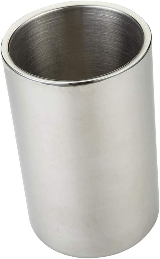 WJCCY Stainless Steel Ice Bucket Buc Regular discount trust Wall Double by Portable