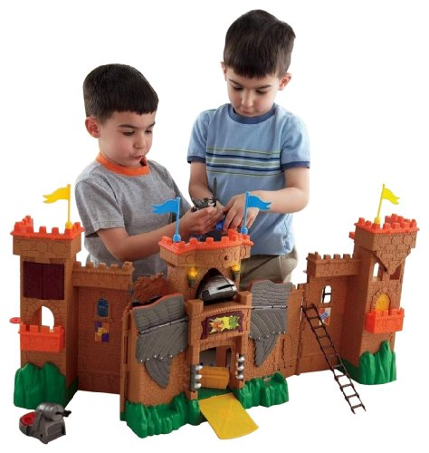 Product Image of the Fisher-Price Imaginext Eagle Talon Castle