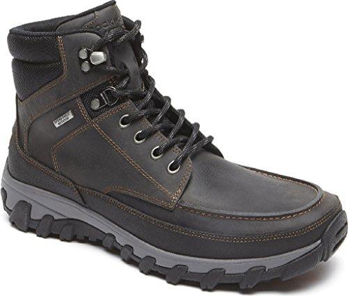 Rockport Men's World Explorer Waterproof High Boot,Castlerock Leather,US 9 M