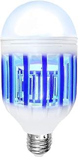 Luz Mata Mosquitos Bombilla LED Ultravioleta Electrónico 2 en 1 Lámpara Anti Polillas, Moscas, Insectos Voladores Moth Killer para Exterior e Interior