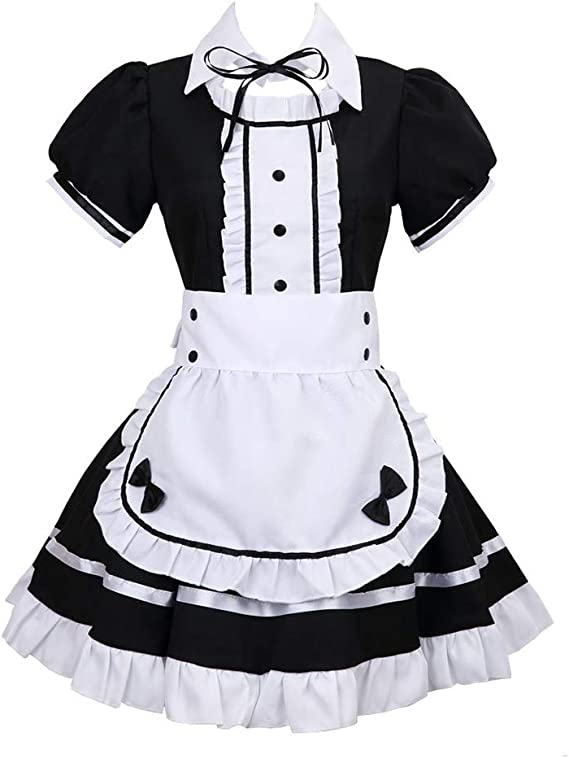 Anime K-on Mio Akiyama Disfraz de Cosplay Vestido de Lolita ...