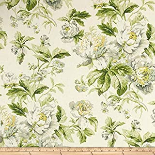 WAVERLY Fleuretta Basketweave Spring Fabric by The Yard