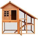 Deuba Kaninchenstall Residenz mit 3 Etagen - Hasenstall Stall Kaninchen Käfig Hasenkäfig Kaninchenkäfig