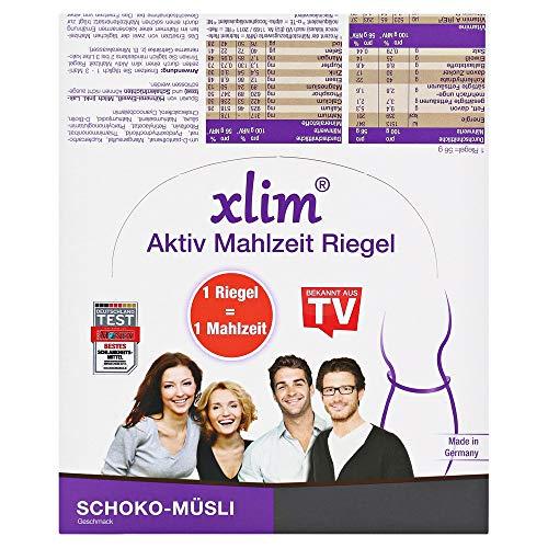 xlim aktiv Mahlzeit Schoko-Müsli, 12 St. Riegel