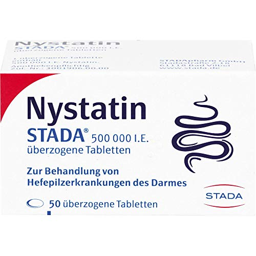 Nystatin STADA Tabletten, 50 St. Tabletten