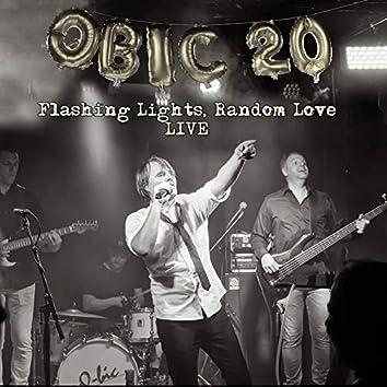 Qbic 20: Flashing Lights, Random Love (Live)