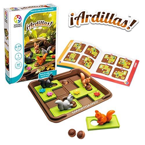 smart games Ardillas, Educativos, Regalos Divertidos, Rompecabezas Niños, Juguetes Niña 6 Años o Más, Juego Mesa (1)