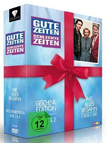 Gute Zeiten, schlechte Zeiten - Wie alles begann - Box 1+2, Folgen 1-100 (Geschenk-Edition) (10 DVDs)