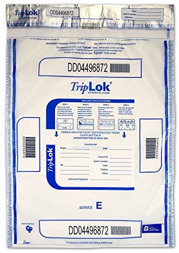 15 X 20 TripLok, Clear w/Pocket, 50 Deposit Bags
