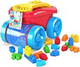 MEGA- Block SCOOPING Wagon Bloks CNG23 Vagone Raccogli Blocchi, Multicolore