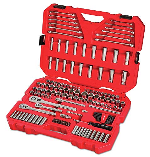 CRAFTSMAN Mechanics Tool Set SAE / Metric 159Piece CMMT12025