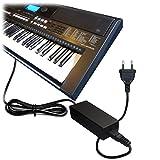 ABC Products® para Yamaha AC/DC Fuente de alimentación, adaptador de red, conector 12V/12V (PA de 5d/PA de 150/PA de 150A/5d/sepa6/PA de 6/PA de 3C/EP de A3/KP de A3/PA de 130/PA4/PA de 40/PA de 3B/PA de 3C/PA de 1/PA de 1B) para compatible con Yamaha Sintetizador/Stage Piano 's/Portable Keyboards/piag Gero Piano digital/Drum Machine etc. (Modelos de la serie)