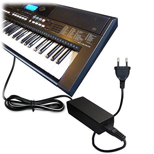 ABC Products® Ersatz Yamaha AC / DC Netzteil, Netzadapter, Netzanschluss 12V / 12 Volt (PA-5D/PA-150/PA-150A/5D/SEPA6/PA-6/PA-3C/EP-A3/KP-A3/PA-130/PA4/PA-40/PA-3B/PA-3C/PA-1/PA-1B) für passend zu Yamaha Synthesizers / Stage Piano\'s / Portable Keyboards / Piaggero Digital Piano / Drum Machine Serien etc (Modelle unten angegeben)