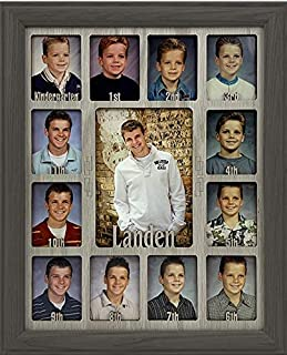 Northland School-Years Picture Frame Personalized - Holds Twelve 2.5