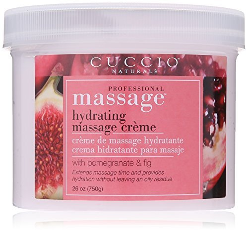 Cuccio Massage Cream, Pomegranate and Fig, 26 Ounce by Cuccio