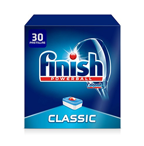 Finish Classic Regular Pastillas para Lavavajillas, 30 Pastillas, pack de 2