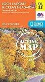 OS Explorer ACTIVE OL55 Loch Laggan & Creag Meagaidh, Corrieyairack Pass (OS Explorer Map)