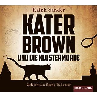 Kater Brown und die Klostermorde (Ein Kater-Brown-Krimi 1) Titelbild