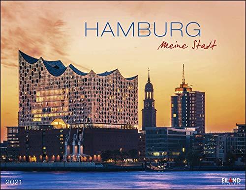 Hamburg Kalender 2021: Die Hansestadt