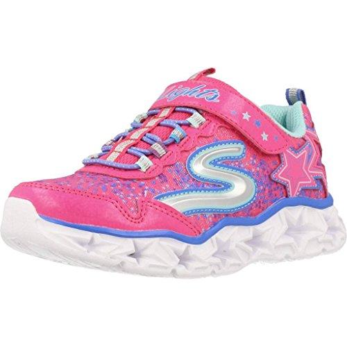Skechers Mädchen Galaxy Lights Sneaker, Pink (Pink 10920l-Npmt), 33 EU