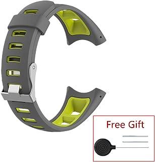 MEIRUO Men's Replacement Strap Bracelets for Suunto Quest/Suunto M-Series/Suunto M1/Suunto M2/Suunto M4/Suunto M5