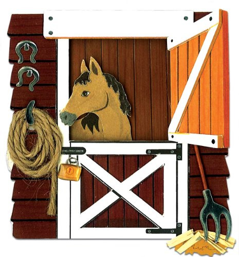 Jolee's Boutique Horse In The Stable Stickers