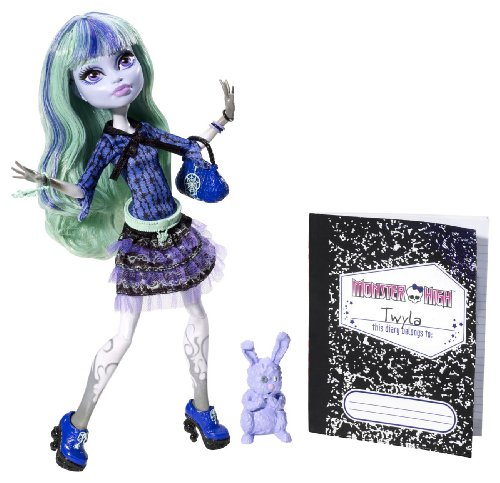 Mattel Monster High BBJ99 - 13 Wünsche Twyla, Puppe