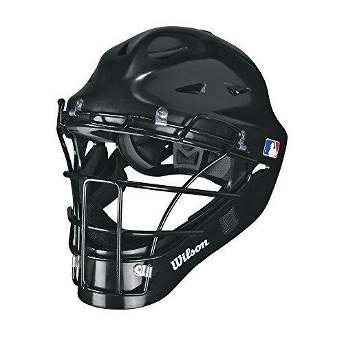 Wilson Prestige Catcher's Helmet, Black, Large/X-Large
