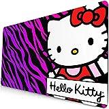 Alfombrilla de ratón de Hello Kitty para juego de extensión, almohadilla de teclado anime, almohadilla de escritorio, almohadilla de ordenador para gato, almohadilla de juego 1 (60 x 35 cm)